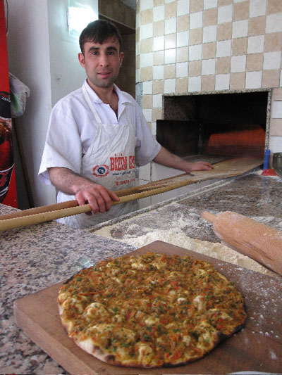 Love that lahmacun -- photo by Ansel Mullins