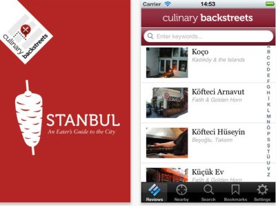 Culinary Backstreets: Istanbul iPhone app