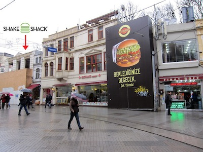 Future locations of Shake Shack and Fatburger, photo by Ansel Mullins