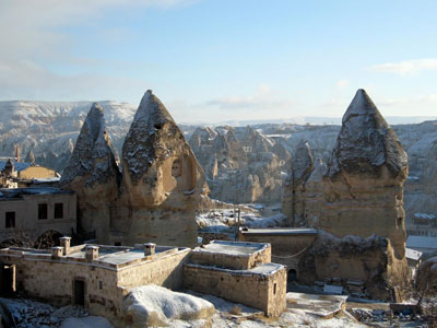 Cappadocia, photo by Yigal Schleifer