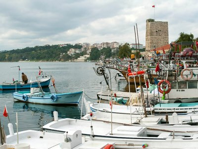 Sinop's harbor, photo by Theodore Charles