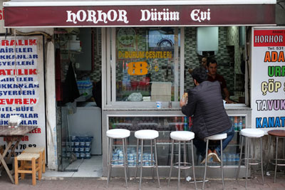 Horhor Dürüm Evi, photo by Paul Osterlund