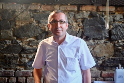 Mehmet Akkök of Astek Restaurant, photo by Paul Benjamin Osterlund