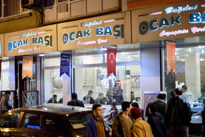 The exterior of Bağdat Ocakbaşı, photo by Paul Benjamin Osterlund