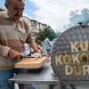 Kokoreç at the Edirne Pazar