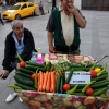 Istanbul's Top 5 Street Foods: #5 - The Galata Cucumber Man